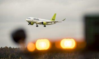 Izvairīšanās no Baltkrievijas gaisa telpas šonedēļ ietekmēs 8.1% no 'airBaltic' lidojumiem