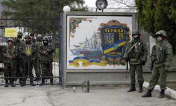 Krimas okupācija: tilts, 'zaļie cilvēciņi', meli un Džamalas uzvara
