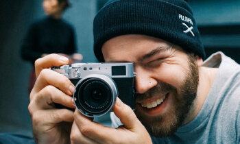 Jauns saldumiņš foto gardēžiem – 'Fujifilm X100V'