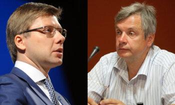 'Tie ir klaji meli' – Ušakova sacīto par 48 slēdzamajām Rīgas skolām raksturo IZM