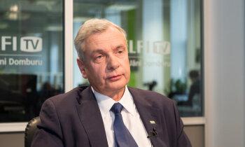 Министр образования Карлис Шадурскис на Delfi TV: