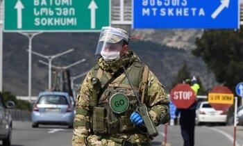 'Bīstami patogēni ASV vadībā': arī pret Gruziju vērsta ar Covid-19 saistīta Krievijas dezinformācija