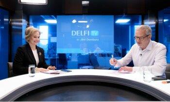 'Delfi TV ar Jāni Domburu' atbild Satversmes tiesas priekšsēdētāja Ineta Ziemele. Pilns ieraksts
