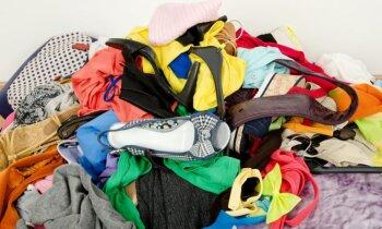 Kur likt apģērbu un mantas, kas vairs nav vajadzīgas?