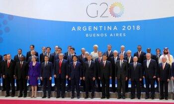 G20 samits: No kā izvairījās pasaules lielvalstu līderi