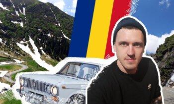 Ar žiguli līdz kalniem Rumānijā: Āris un viņa 10 dienu garais piedzīvojums