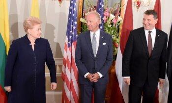 ASV viceprezidents Rīgā: NATO piektā panta ievērošana ir mūsu svēts pienākums
