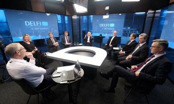 'Delfi TV ar Jāni Domburu' diskusija '13. Saeimas pirmais gads: paveiktais, nepaveiktais, ko tālāk?'. Pilns ieraksts