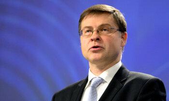 Latvija panākusi ievērojamu progresu finanšu sektora nostiprināšanā, uzsver Dombrovskis