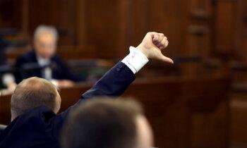 Par Saeimas atlaišanu savākts 41 tūkstotis parakstu, intensitāte strauji kritusies