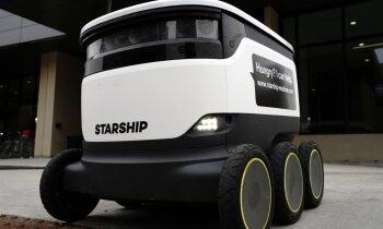 Jau otrajā Lielbritānijas pilsētā sāk pārtikas piegādes ar robotiem