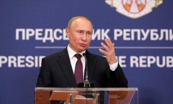 Putins Kosovas armijas izveidi dēvē par nelegālu