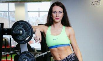 Laila Siliņa par ceļu no nepatikas pret sportu līdz fitnesa sacensībām un treneres profesijai