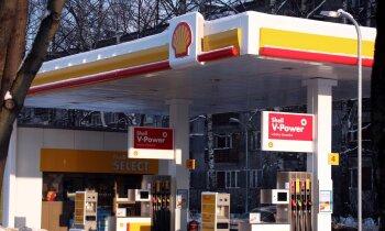 Degvielas gigants 'Shell' atkal pamet Latvijas tirgu