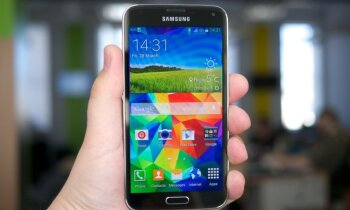 Тест DELFI: смартфон Samsung Galaxy S5 и шагомер Gear Fit