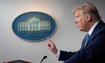 Tramps pret PVO: kā ASV finansējuma apturēšana ietekmēs cīņu ar pandēmiju