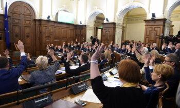 Saeima lūdz Dānijas parlamenta palīdzību Misānes glābšanā (plkst. 14.30)