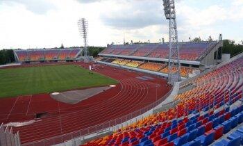 Video: Krāšņas tribīnes un moderns aprīkojums - atklāj stadionu 'Daugava'