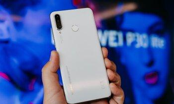 Foto: 'Huawei' izziņo flagmaņa lētāko versiju 'P30 Lite'