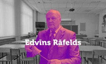 Kā lauku zēns Edvīns Rāfelds no Dundagas kļuva par skolotāju ar lielo burtu
