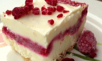 Siera kūkas saldējums