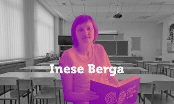 Jāmāk reaģēt un just klases 'pulsu' – vēstures skolotāja Inese Berga