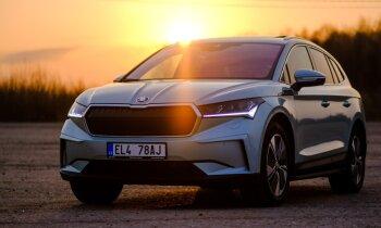 VW grupas 'otrā viļņa' elektroauto modeļi 'ID.4' un 'Škoda Enyaq'