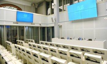 Foto: Ieguldot 6,8 miljonus eiro, Saeima tiek pie jaunas mājas