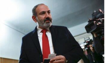 Pašinjana partija pārliecinoši uzvar Armēnijas parlamenta vēlēšanās
