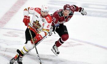 Rīgas 'Dinamo' gūst vienus vārtus un piedzīvo zaudējumu Šanhajā