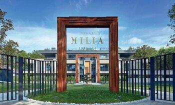 Pilnības iemiesojums: preses karalienes Benjamiņas iedvesmotā 'Villa Milia'