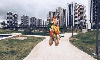 Būt par brīvprātīgo Rio olimpiādē – Monta no Staļģenes par savu sapņu piepildījumu