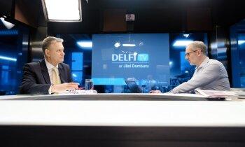 'Delfi TV ar Jāni Domburu' atbild kultūras ministrs Nauris Puntulis. Pilns ieraksts