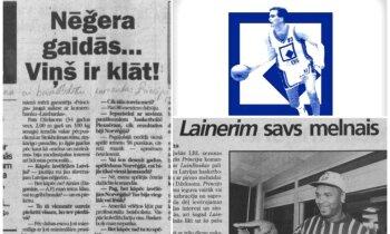 Rietumu celmlauži Latvijas basketbolā. Diplomāts, bārmenis un pirmā amerikāņu zvaigzne Džamals Brauns