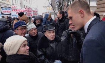 Video: Juraša aizstāvji sadod sutu arī Dombravam