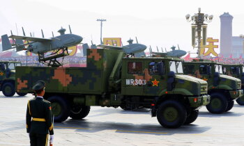 Ķīna ir otrs lielākais ieroču pārdevējs, beidzot apstiprina SIPRI