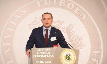 Spriedze Latvijas futbolā: telpu futbola prezidents Ļašenko norāda uz LFF bezdarbību