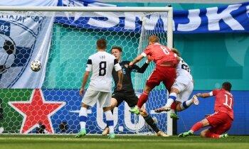 Первая победа: сборная России обыграла Финляндию на ЕВРО-2020