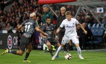 'Riga' līdz pēdējām sekundēm moka 'Kobenhavn' un cienījami atvadās no Eiropas līgas