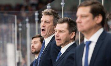 Rīgas 'Dinamo' pēc zaudējumu sērijas atlaiž Ozoliņa palīgus Laviņu un Ņiživiju