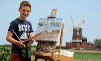 А чего добился ты? 13-летний художник заработал более 3 миллионов долларов