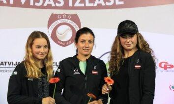 Latvijas tenisa zvaigznēm Federāciju kausā vajadzīgs komforts bez lielām ekstrām, atklāj izlases kapteinis