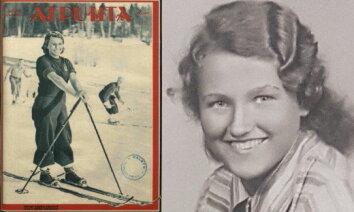 Latvijas sporta vēsture: Mirdza Martinsone – gaišmatainā slēpošanas karaliene