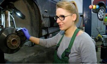 'Kāpēc manu auto skrūvē sieviete!?' Anta no Alūksnes par darbu autoservisā