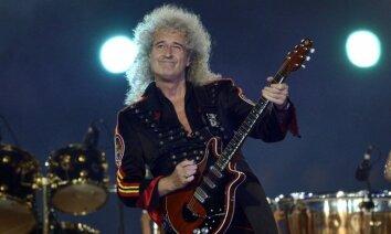 ВИДЕО: Гитарист Queen Брайан Мэй поздравил Земфиру с днем рождения