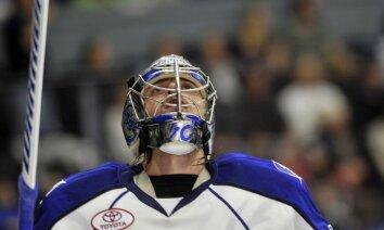 Gudļevskim pietrūkst četru sekunžu līdz 'sausajai' uzvarai AHL spēlē