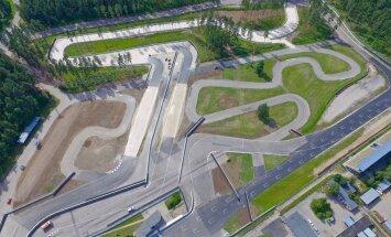 Biķernieku trase gatava 'ģenerālmēģinājumam' pirms 'Neste World RX of Latvia'