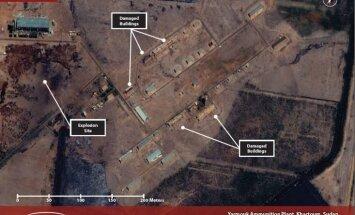 Laikraksts: Trieciens Sudānas ieroču rūpnīcai bijis Izraēlas ģenerālmēģinājums uzlidojumam Irānai