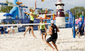 ФОТО: В Центре отдыха LIDO теперь доступны площадки для игры в пляжный волейбол