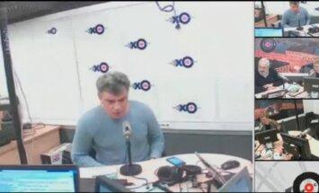Video: Ņemcovs dažas stundas pirms slepkavības sauc Putinu par patoloģisku meli